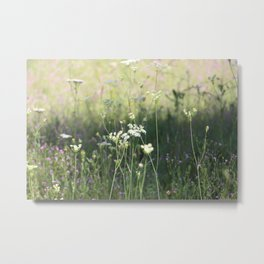 Wherever life plants you, bloom with grace Metal Print