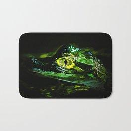 alligator baby eye va Bath Mat