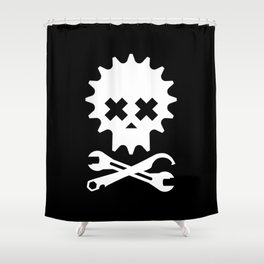 Jolly Rodger Shower Curtain
