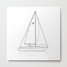Islander 36 Metal Print