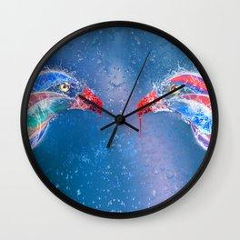 Love Splash Wall Clock