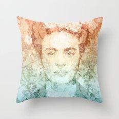 Frida  Throw Pillow