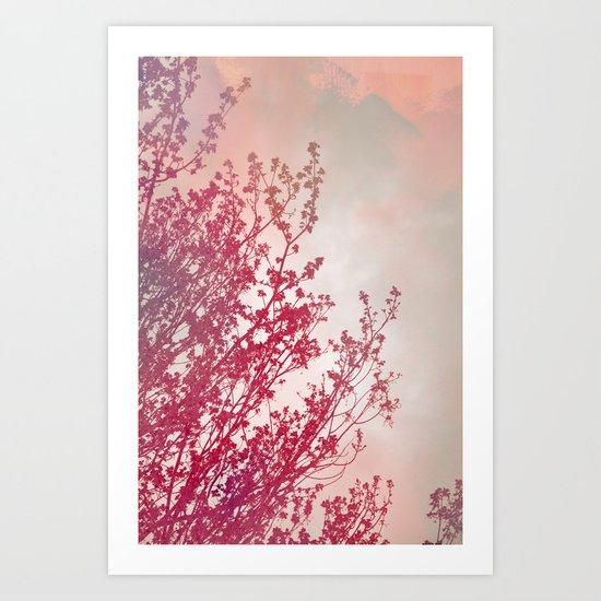 Branches2 Art Print
