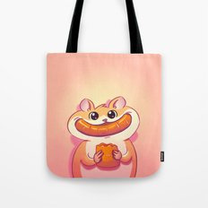 Hamster Happiness Tote Bag