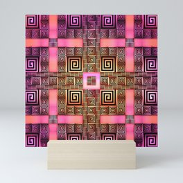 Resolve - Rose Variant Mini Art Print