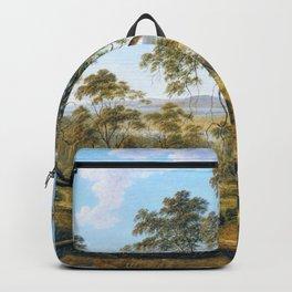 Launceston And The River Tamar - John Glover Backpack