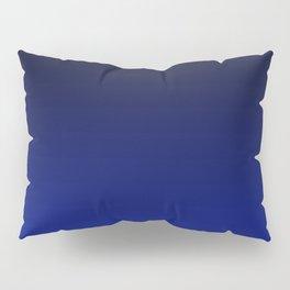 Cobalt blue Ombre Pillow Sham