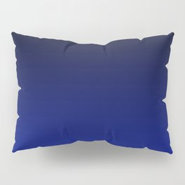 Cobalt blue Ombre Pillow Sham