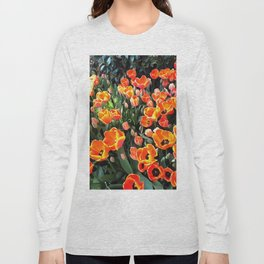 Red Tulips of Istanbul Long Sleeve T-shirt