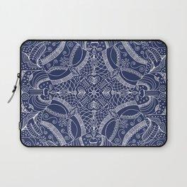 Doodles & Bits Lacy Blue Bandana Laptop Sleeve