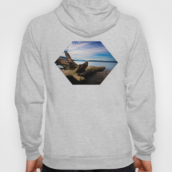 Exposition in Blue Hoody