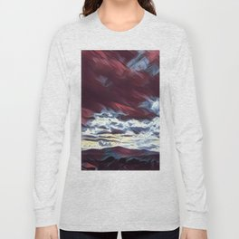 Dreaming mountains Long Sleeve T-shirt