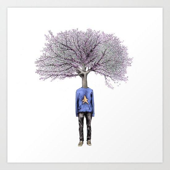 Treenager Art Print