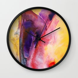 Conceptional Views V Wall Clock