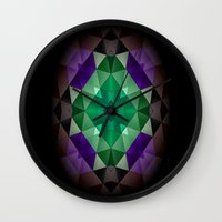 celtic Wall Clocks featuring Celtic Planet.... by Cherie DeBevoise