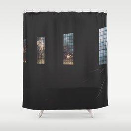 Through the Window Shower Curtain