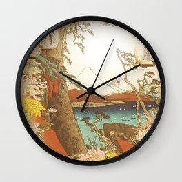 Asian Persuasion Wall Clock