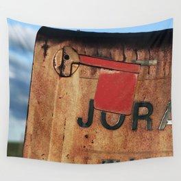 Rural Mailbox Wall Tapestry