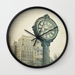 Fifth Avenue time Wall Clock