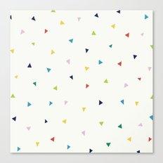 Cute Confetti Pattern Canvas Print