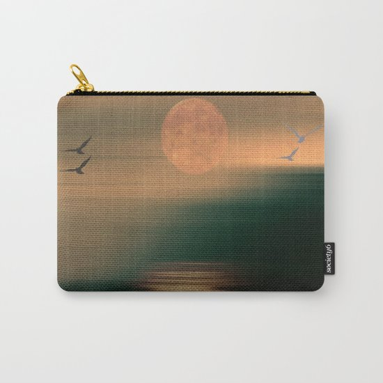 Amber Skies Abstract Carry-All Pouch
