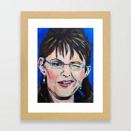 Taliban Republican: Sarah Palin Framed Art Print