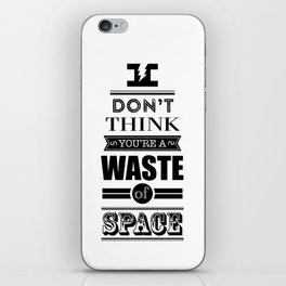 HP Quotes - Deathly Hallows iPhone Skin