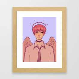Angel Chanyeol | EXO Framed Art Print