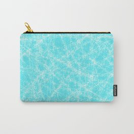 Robbin Egg Blue Pattern Carry-All Pouch