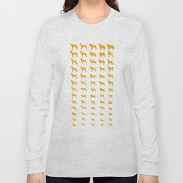 All Dogs (Gold) Long Sleeve T-shirt