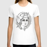 sweden T-shirts featuring Christina of Sweden by Adrienne S. Price