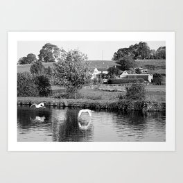 Purton Fly By Art Print