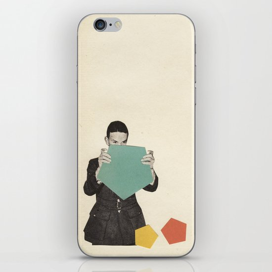 Discovering New Shapes iPhone & iPod Skin