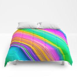 mint saturn Comforters
