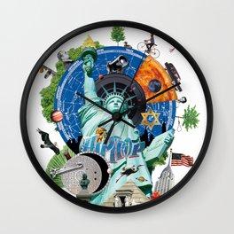 Alternative New York Wall Clock