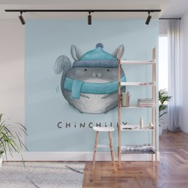 Chinchilly Wall Mural