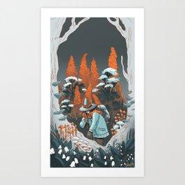 Poisonous Art Print