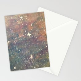 white star Stationery Cards