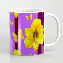 FOR THE LOVE OF BUTTERFLIES PURPLE ART Coffee Mug