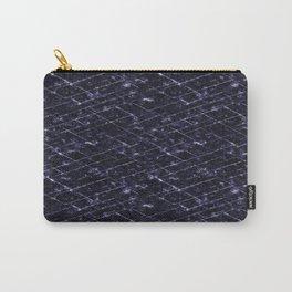 Hornfels 01 - deep indigo texture Carry-All Pouch