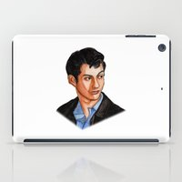 alex turner iPad Cases featuring Alex Turner by Janet Datu
