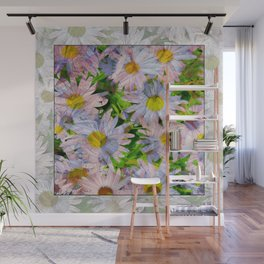 DAISEY MADNESS ABSTRACT  Wall Mural