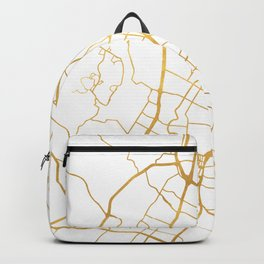 AUSTIN TEXAS CITY STREET MAP ART Backpack