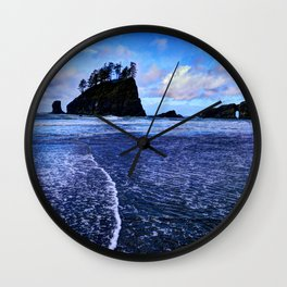 Blue Ocean Wall Clock
