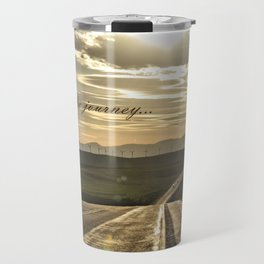 It's About The Journey Travel Mug