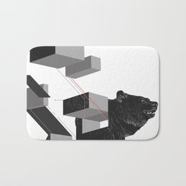 bear_deconstructed Bath Mat