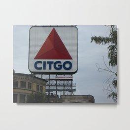 Citgo, Kenmore Square Metal Print