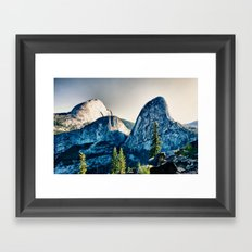 Yosemite Liberty Cap, Mt Broderick Framed Art Print