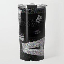 BLAH - Typography Travel Mug