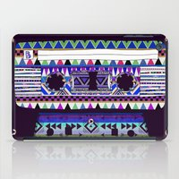 tape iPad Cases featuring Mix Tape # 10 by Bianca Green
